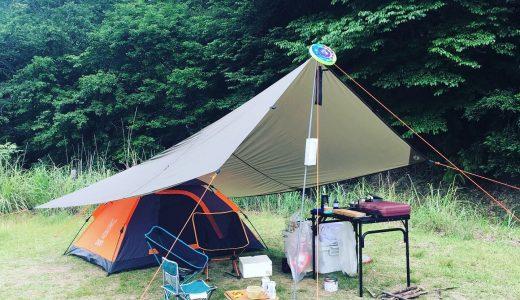 近い・きれい・川遊び!スノーピーク箕面キャンプフィールドのキャンプレポ